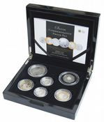 2011 6x Coin Silver Proof Commemorative Set